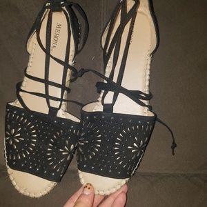 Lazy up sandals